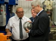 Harper pledges enhanced tax credit for northern mining projects (VIDEO)