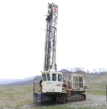 Blasthole Drills, Crawler Drills - Pacific Cranes and