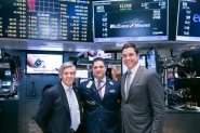 McEwen Mining Inc. CEO Rob McEwen Visits NYSE following a Share Price Increase