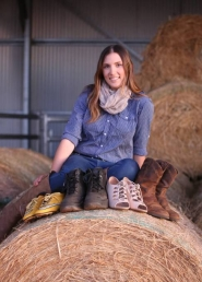 Miner, grazier, Miss Showgirl and footy player Emma talks about life on the land