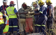Six workers safely rescued from South African abandoned gold mine