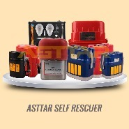 Asttar 30-60 Minutes Duration Isolated Chemical Oxygen Self Rescuer for Personal Safety Protection underground