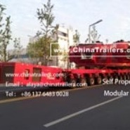 ChinaTrailers manufacture Modular Trailers fully compatible with original Goldhofer THP/SL for Mexico