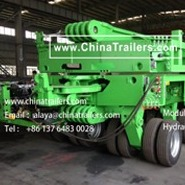 ChinaTrailers manufacture Modular Trailers fully compatible with original Goldhofer THP/SL for Bolivia