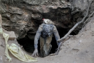 Illegal miners keep digging despite the danger