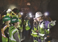 Mine shadow - Students take job shadowing tour at Eagle Mine