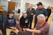 Coal miners ask students to keep their mining stories going