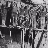 Gold mining in the good old days