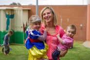Mining town mums on isolation, absent partners and transient friends