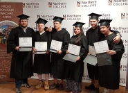 Northern College and Richmont Mines hold graduation for mining program