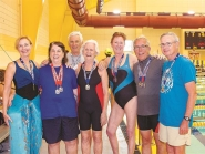 Mining medals in the water