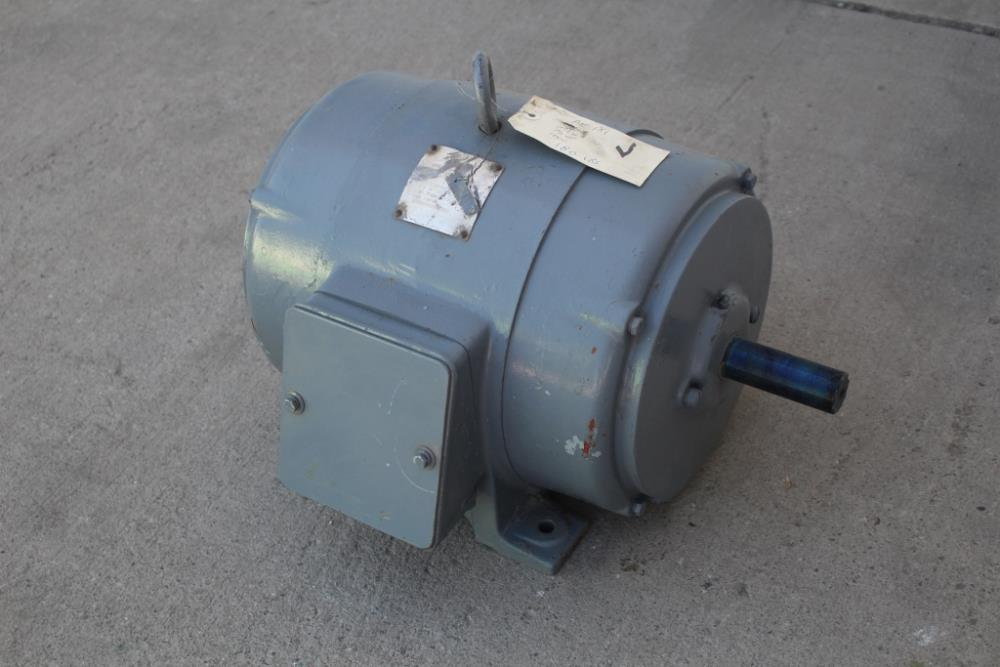 7 5 hp newman motor 1800 rpm 254u frame 440 volt odp used for 5 hp 1800 rpm motor