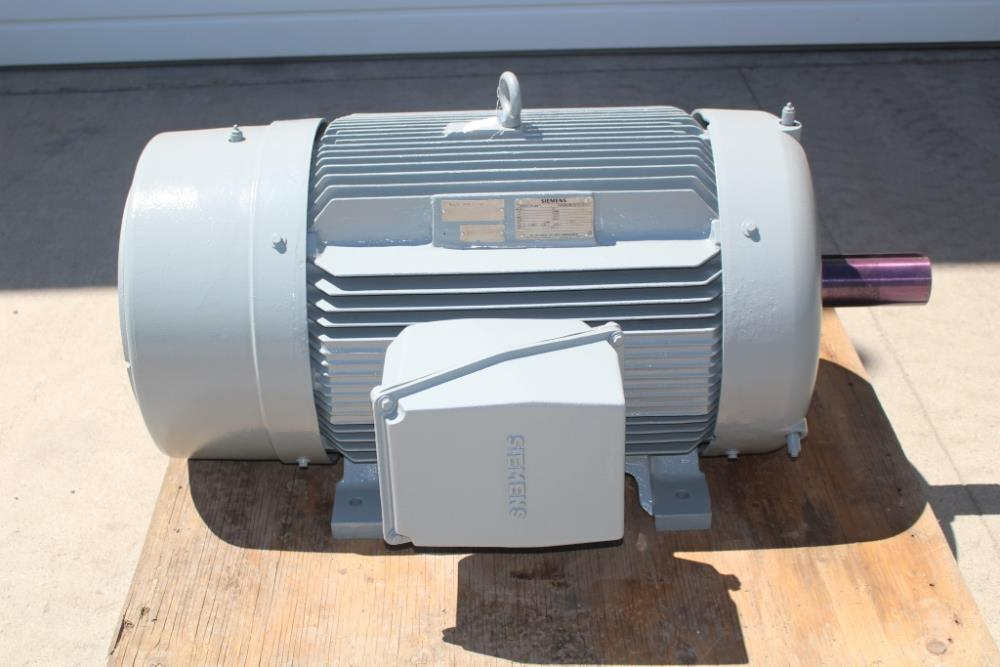 150 Hp Siemens Pe 21 Plus Premium Efficiency Motor 885 Rpm