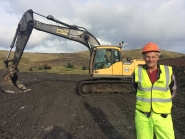 Workers are mining for qualifications in Muirkirk
