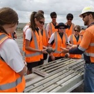 St Catherine's Catholic College students visit Yancoal's Hunter Valley Operations