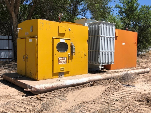 Atkinson skid mounted substation