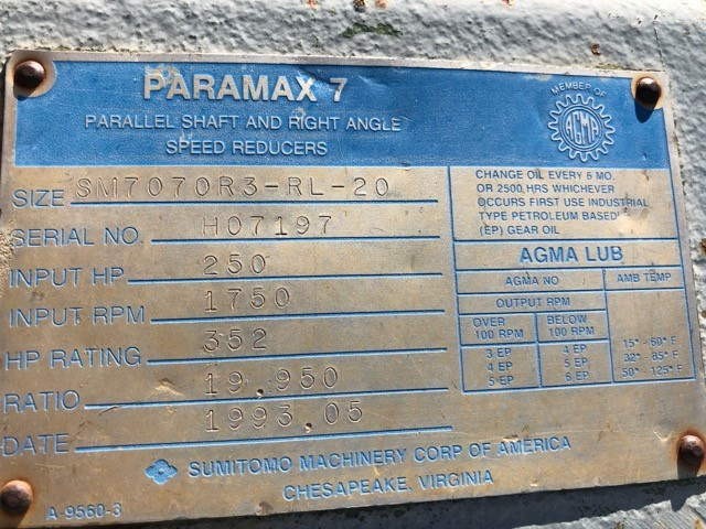 Paramax 7 Parallel Shaft (Used) for Sale in United States