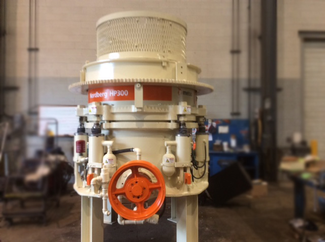1994 Metso-Nordberg HP300 Cone Crusher (Used) for Sale in