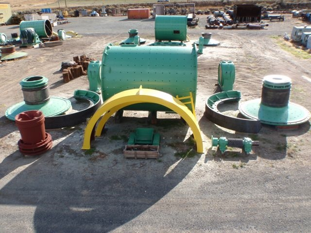 11 x 14.5 ft Dominion Ball Mill for 1,250 HP