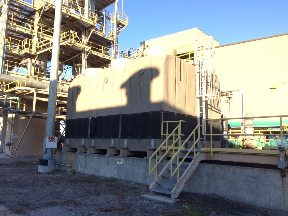 Refrig, Cooling Tower, 1200 Ton, Delta, TM Series, 3 Cell