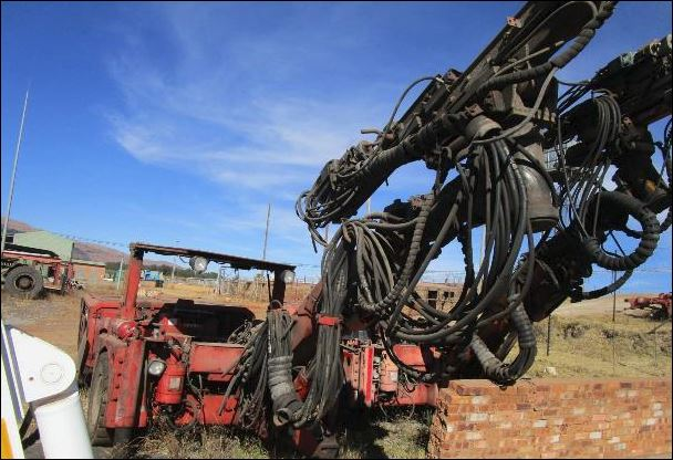 Sandvik DD210L-V Drill Rig (Used) for Sale in South Africa