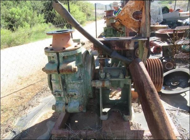 Warman 6-Aug Slurry Pump (Used) for Sale in South Africa - EquipmentMine