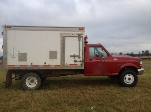 1994 Ford F350 Explosive Delivery Truck